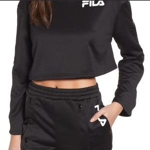 FILA Aurora Flare Sleeve Top Sweatshirt